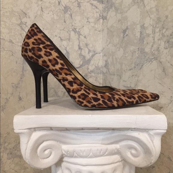 Leopard Animal Print Pointy Toe Pumps